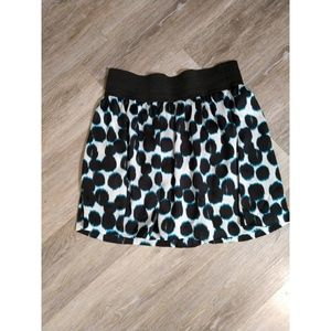 HeartSoul Skirts - Blue and black skirt size L